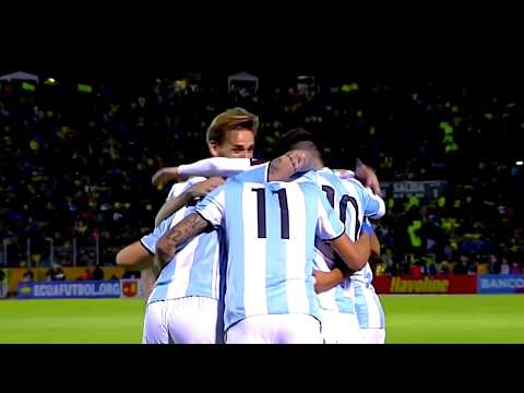 Argentina vs Ecuador 3:1  Messi 3 Goals  World Cup Qualifier 2018  HD
