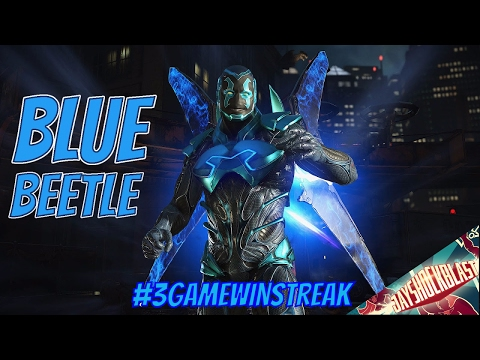 Injustice 2 Blue Beetle Gameplay Live Stream #3gamewinstreak