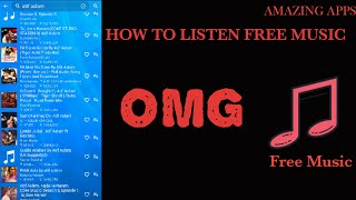 How to listen free music on android