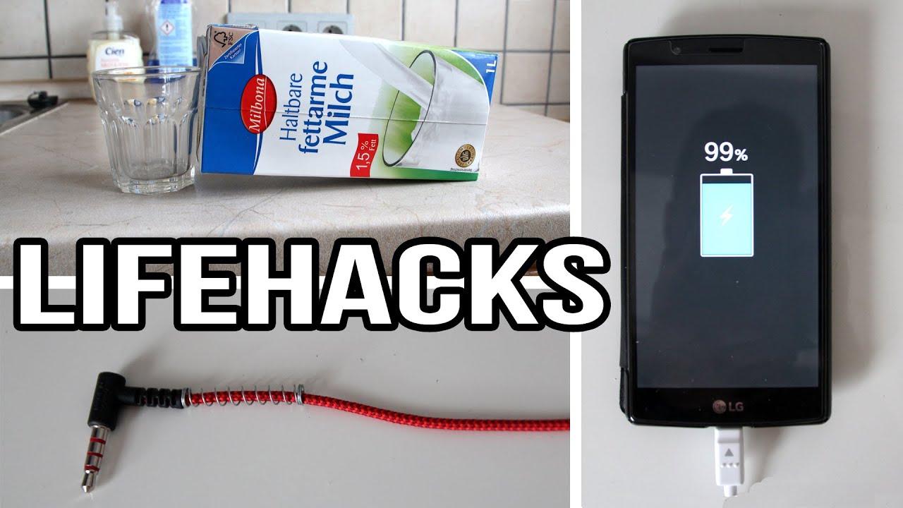 handy doppelt so schnell aufladen life hacks youtube. Black Bedroom Furniture Sets. Home Design Ideas