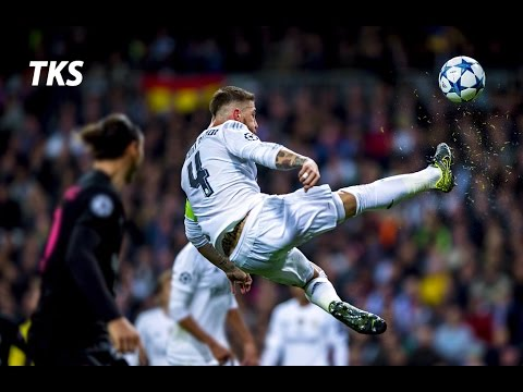 Wallpaper Real Madrid Hd Sergio Ramos The Spanish Wall Craziest Tackles And