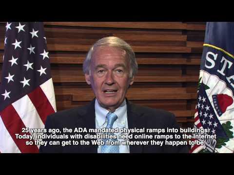 Senator Ed Markey ADA 25th Anniversary Message