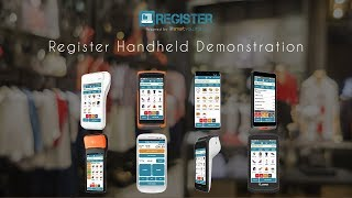 In this video we will provide an overview and demonstration of the register handheld epos which enables a true mobile point sale (mpos) experience. regist...