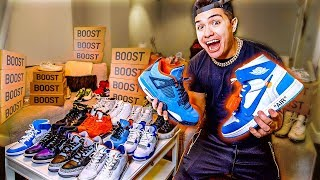 LEGIT VLOGS SHOE COLLECTION!! ($20,000)