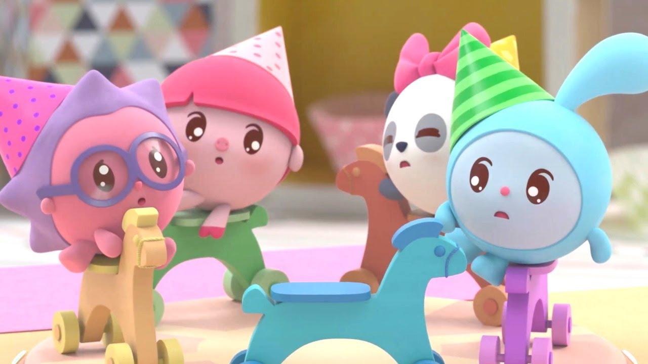 Малышарики | Сборник - Играем вместе | Мультфильмы для детей