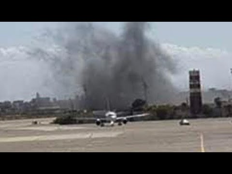 Libya Civil War? Tripoli airport hit by air strikes as fighting rages and death tolls rise