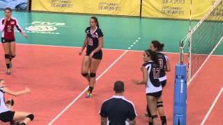 Волейбол Россия-США (женщины) - Sofia Deaflympics 2013