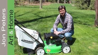 Lawn-Boy AWD Mower - Unbox, Assemble & Review