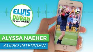 Alyssa Naeher Describes Goalkeeping During the 2019 FIFA Women's World Cup | Elvis Duran Show