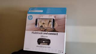 Unboxing the HP officejet 5200 printer