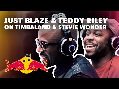 Just Blaze and Teddy Riley - Red Bull Radio