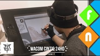Wacom Cintiq 24HD Review - The Ultimate Tool for Artists