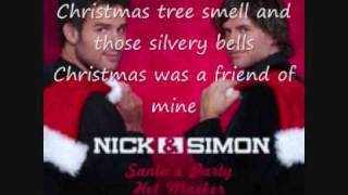 Christmas was a friend of mine+lyrics