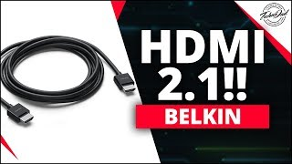 HDMI 2.1 Spec | Belkin Ultra High Speed HDMI Cable