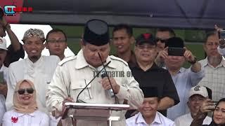 EMPAT MOMEN LUCU PIDATO PRABOWO DI KAMPANYE AkBAR NASIONAL YOGYAKARTA
