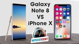 Galaxy Note 8 có nhanh hơn iPhone X? 🤔