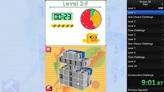Picross 3D: Easy in 2:12:06