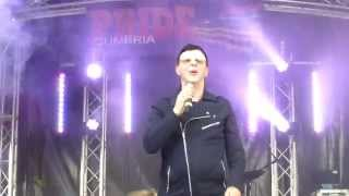 "Marc Almond ""Tainted Love/Where did our Love go"" Cumbria Pride Carlisle June 20th 2015"