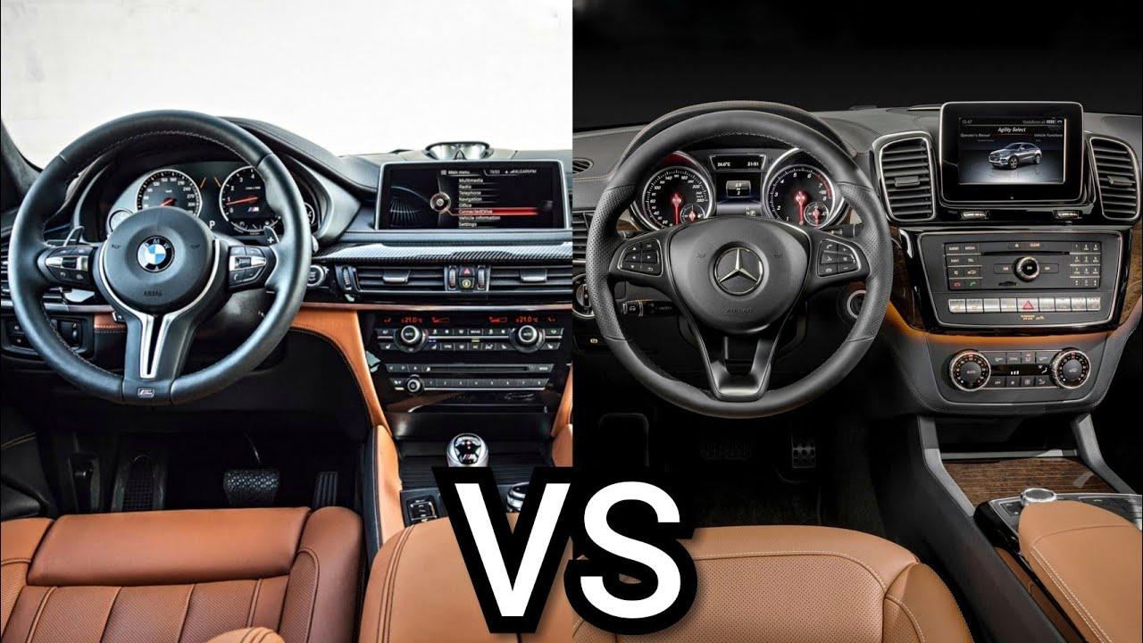 Bmw X6 Vs Mercedes Benz Gle Coupe Interior Youtube
