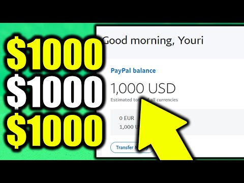 Earn $1,000 With EASY Method! (Make Money Online – Passive Income)
