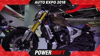 TVS Zeppelin @ Auto Expo : World's 1st Hybrid Power Cruiser : PowerDrift