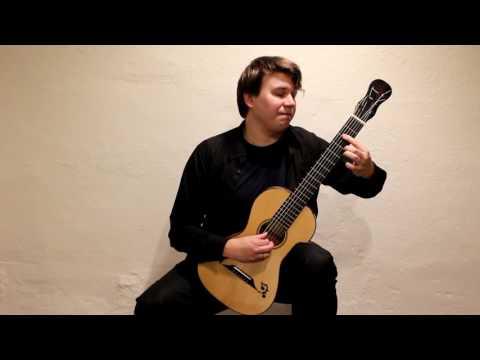 Matteo Carcassi Etude 16 from 25 Etudes op. 60 played by Patrik Kleemola