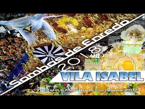UNIDOS DE VILA ISABEL 2018 - SAMBA OFICIAL