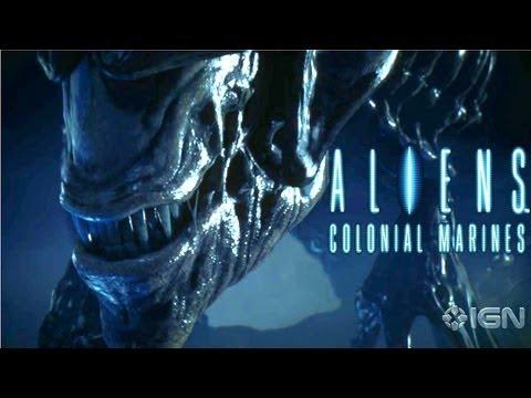 Exclusive Aliens: Colonial Marines Cinematic Trailer