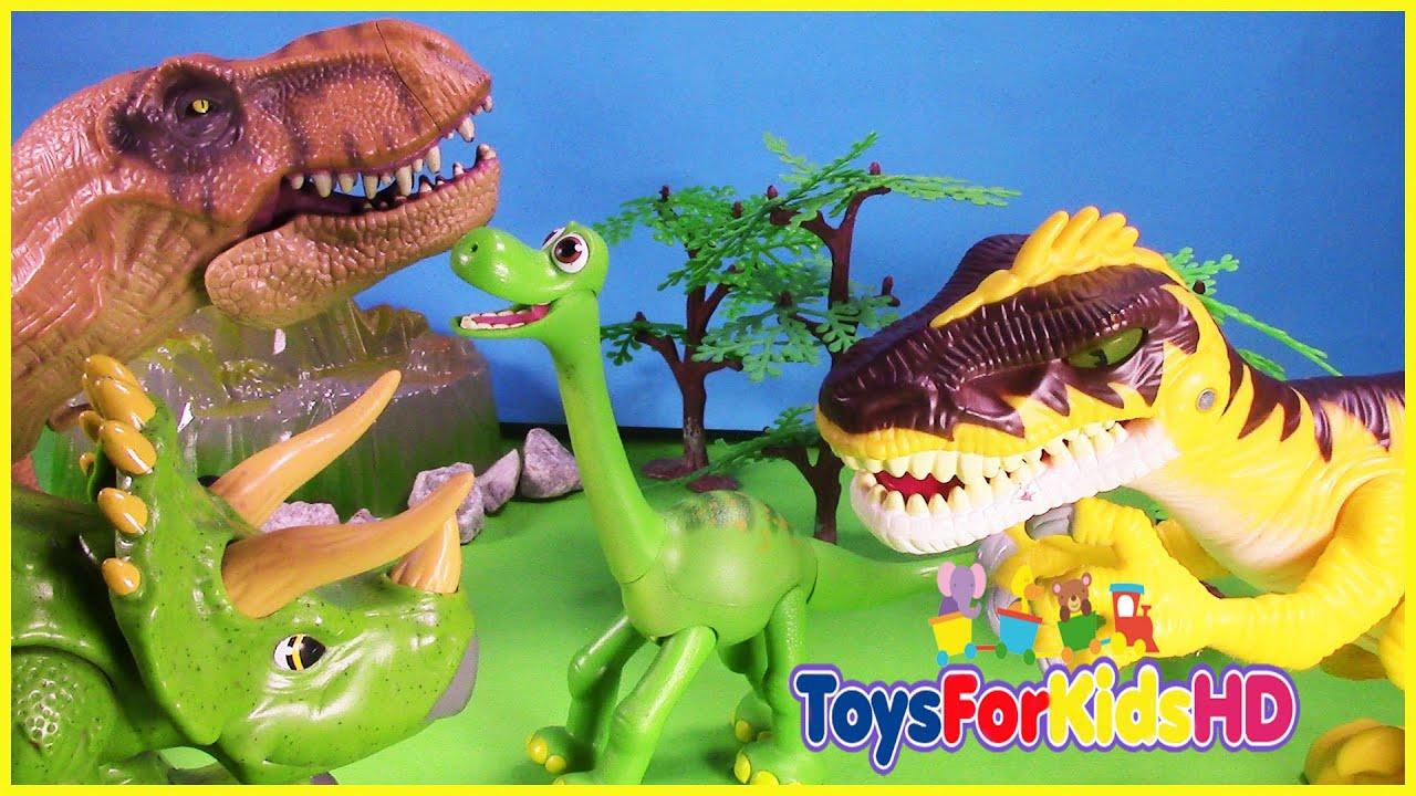 Videos De Dinosaurios Para Niños Los Grandes Amigos Dinosaurios Cuentos De Dinosaurios Toysforkidshd Youtube