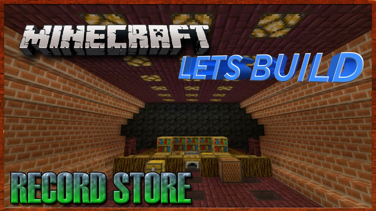 Minecraft Xbox: Lets Build - An Underground Record Store ...