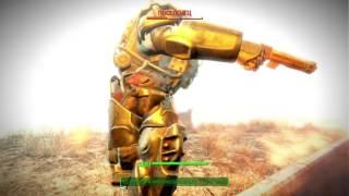 Fallout 4 Поселенец в силовой броне