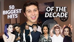 Singing The 50 Biggest Hits of the DECADE to ONE BEAT!
