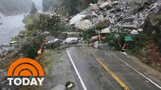 'Bomb Cyclone' Pummels California With Dangerous Mudslides And Flooding
