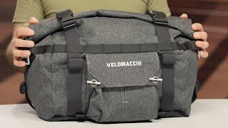 Velomacchi 25L Speedway Tail Bag Review