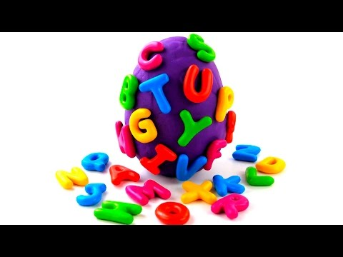 kids-learn-the-alphabet-|-huge-surprise-egg-opening-|-play-doh-egg