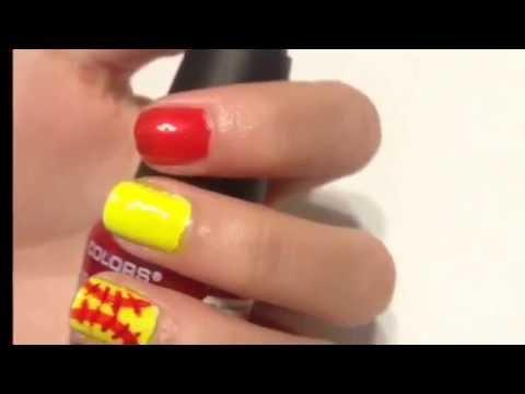 Softball Nail Art Youtube
