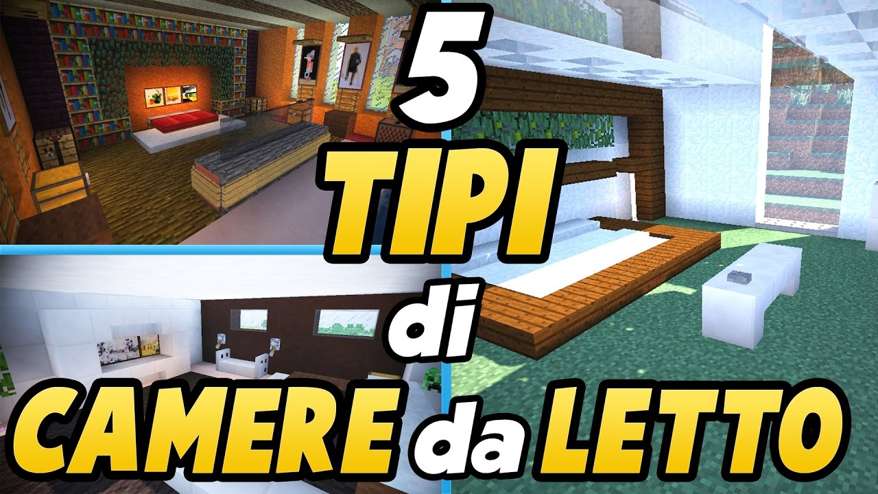 Come arredare una casa in minecraft la camera da letto for Arredare una camera da letto matrimoniale