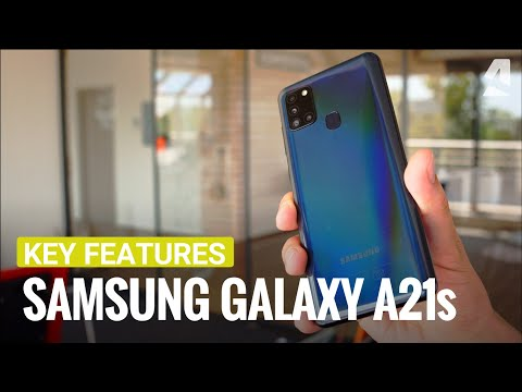 Samsung Galaxy A21s hands-on and key features