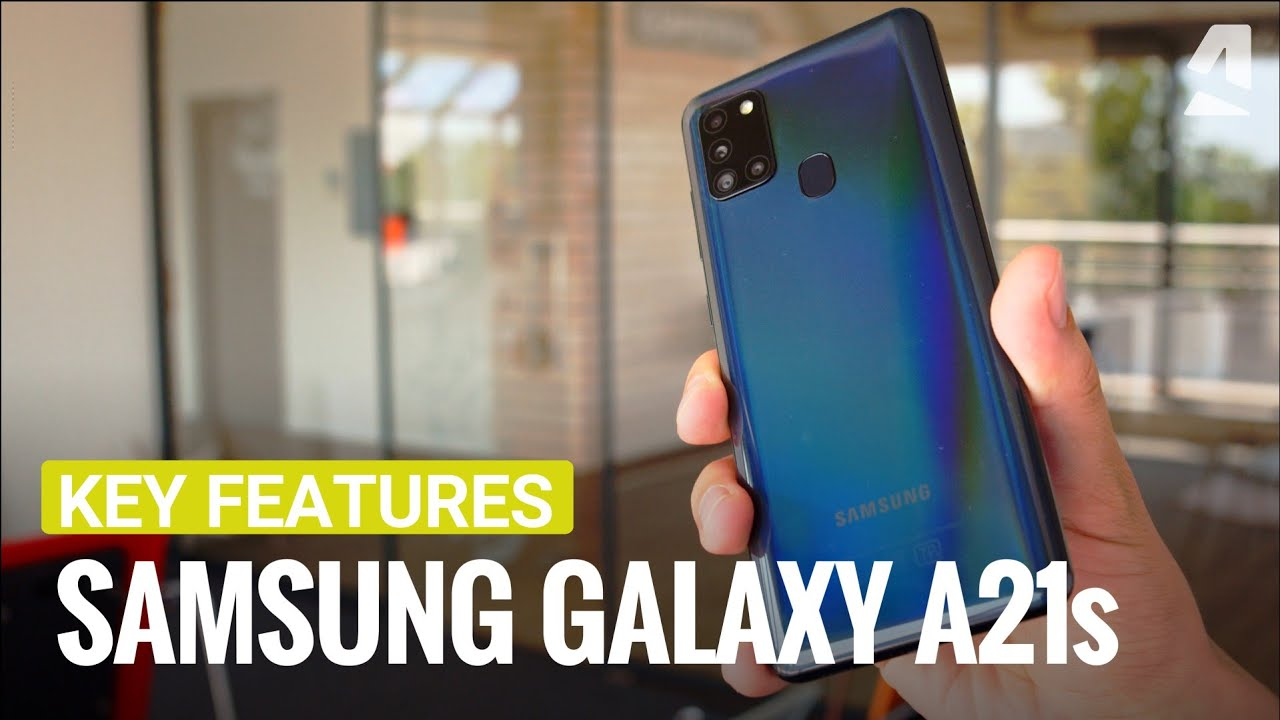 Samsung Galaxy A21s Hands On And Key Features Youtube