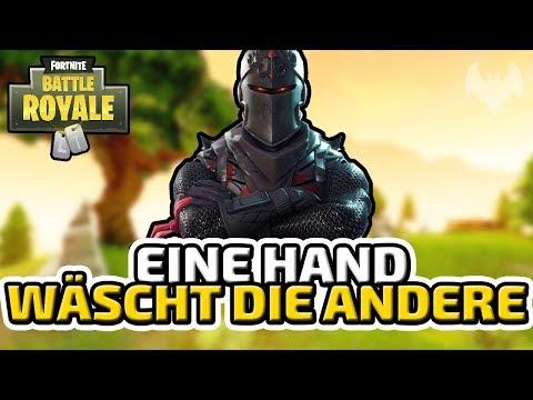 Eine Hand wäscht die andere - ♠ Fortnite Battle Royale ♠ - Deutsch German - Dhalucard