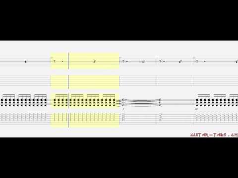 Scorpions Tabs - Holiday (rhythm)