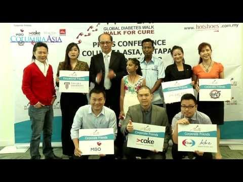 #WalkforCure2013 Press Conference