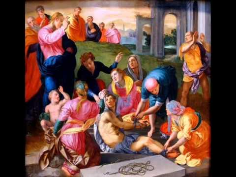 CATECHESI DI MONSIGNOR MATINO-RESURREZIONE DI LAZZARO-12-03-2013-SS.TRINITA'-NAPOLI