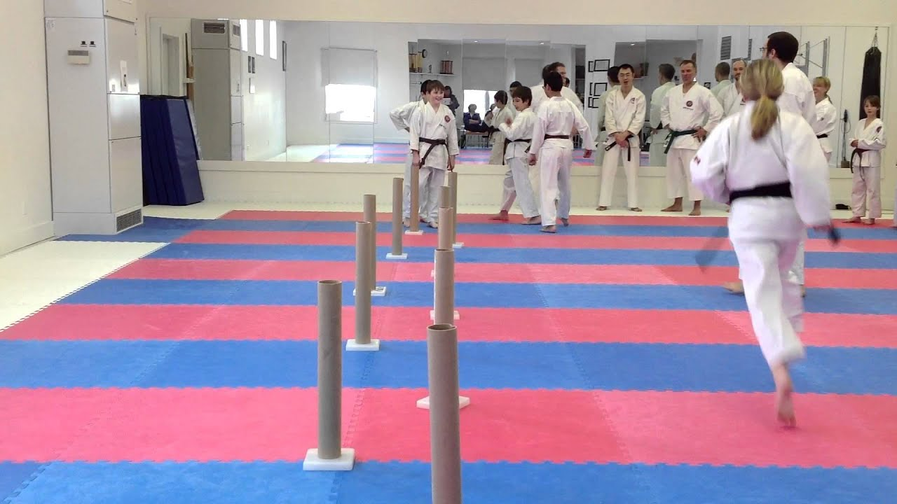 Mawashi Geri Training Drill Shotokan Karate In Winnipeg Charleswood Karate 2012 Youtube