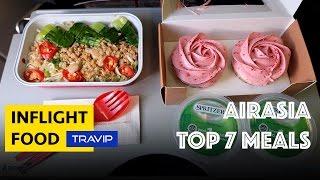 Video AirAsia TOP 7 BEST MEALS | Travip Flight Review download MP3, 3GP, MP4, WEBM, AVI, FLV Juli 2018