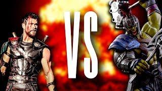 Thor VS Hulk Rap Battle EPIC! - Thor Ragnarok Rap (Avengers)  Daddyphatsnaps
