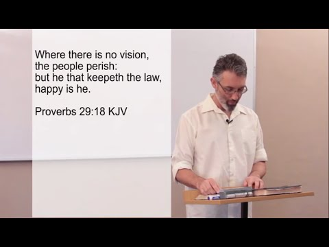 God's Vision God's Mission - Lesson 1 of 10 - The Mystery