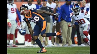Demaryius Thomas vs Janoris Jenkins Matchup Highlights | WR vs CB