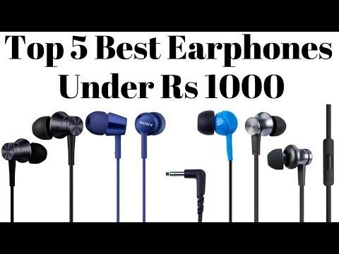 Top 5 Best Earphones Under Rs 1000 In 2018 | Best Budget Earphones.