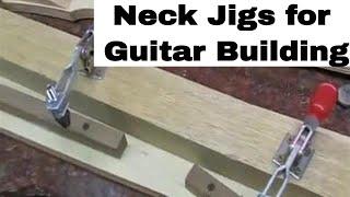 Les paul guitar neck jigs luthier builder templates for custom project